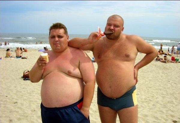 """Подборка смешных фото из серии: """"Русские на пляже"""", 50 фото"""