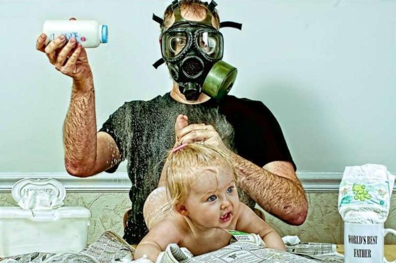 Самые веселые отцы, которые вас рассмешат: 50 классных снимков