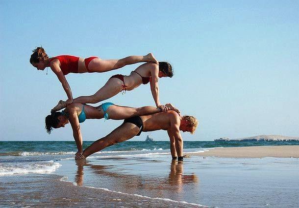 Приколы на пляже: 50 смешных фото