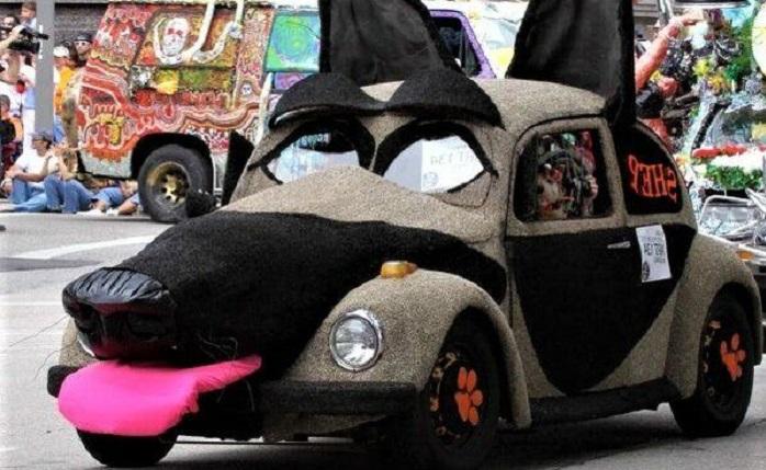 Странный автотюнинг, 50 забавных фото