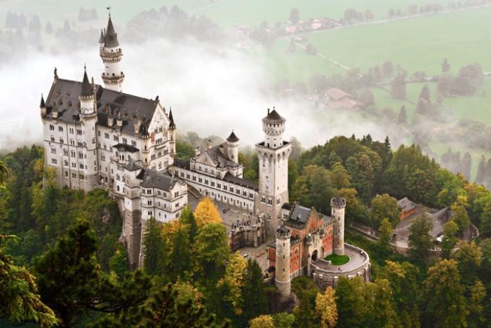 50 эпичных фотографий замков Европы
